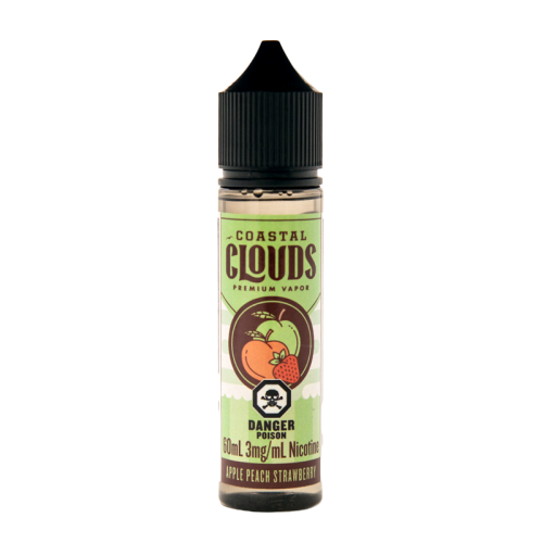 Apple Peach Strawberry by Coastal Clouds – vape juice